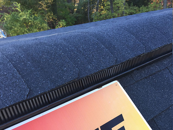 Roof Ridge Ventilation, Robbinsville, NJ