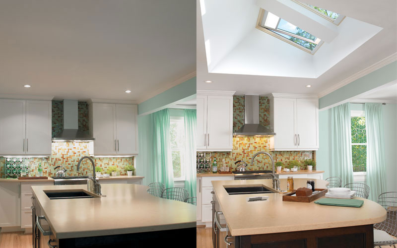 Effect of Adding Skylights