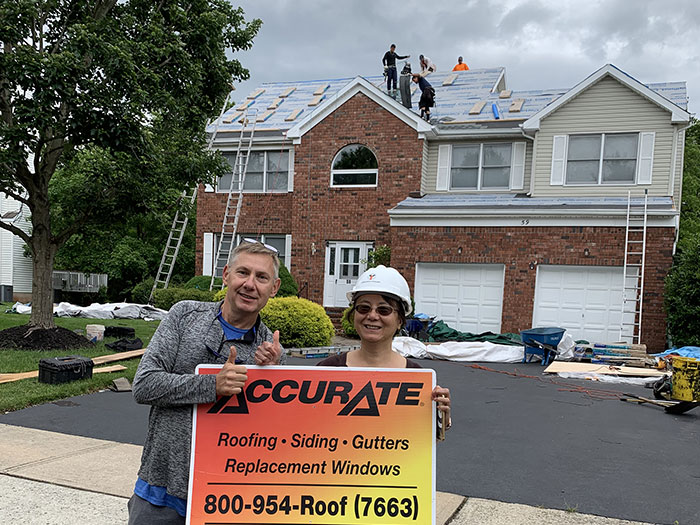 Roof replacement - Belle Mead, NJ