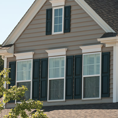 >Window Trim and Shutters