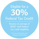 Federal tax credit seal