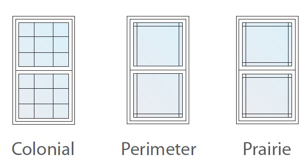 Windows Inside grid styles