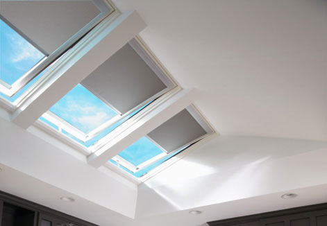 Room with Skylights