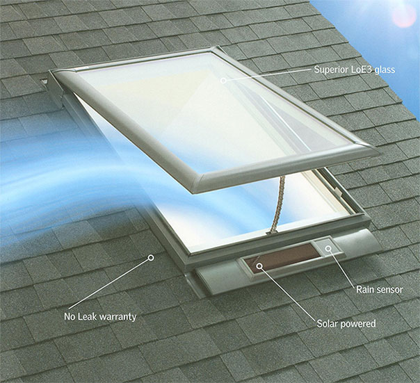 No Leek Solar Skylights