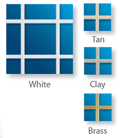 Windows grid colors examples