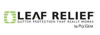 Leaf Relief gutter protection logo