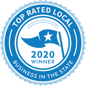 2020 Top Rated Local business award